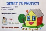 Detect to Protect! Radon
