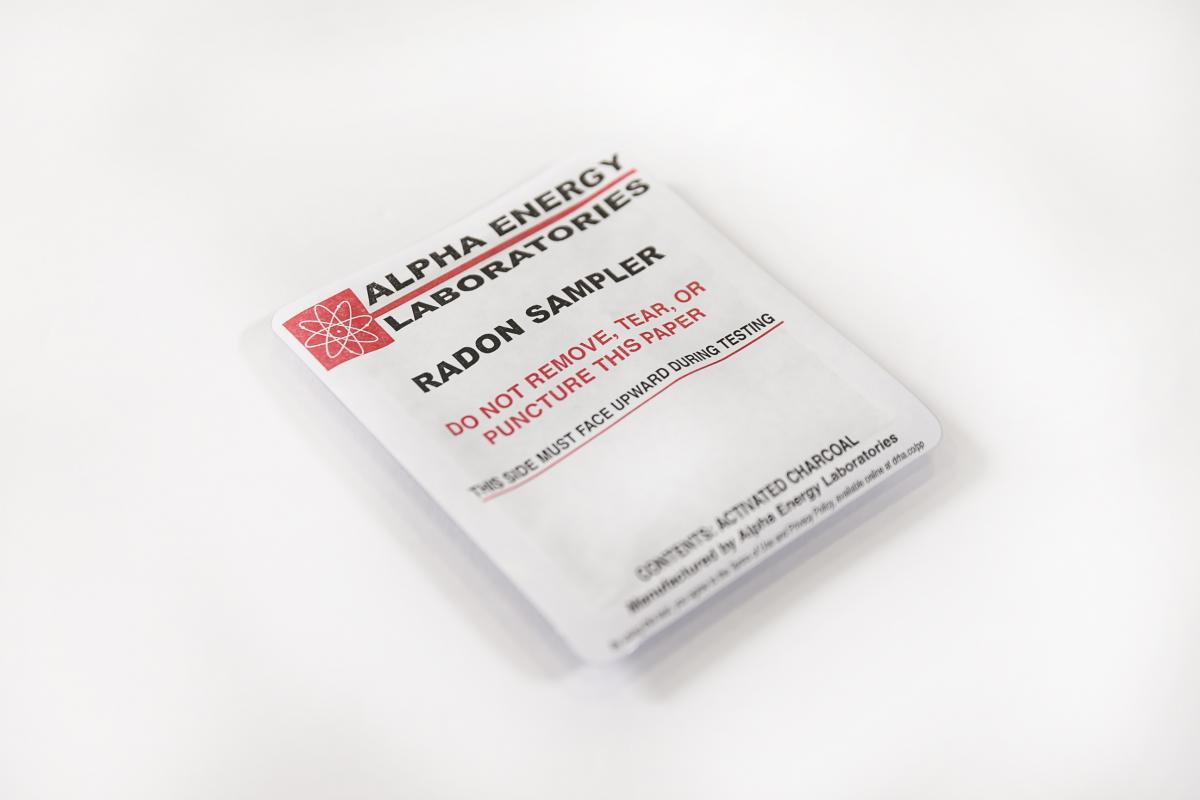 Radon test kits available for purchase national radon program alpha energy short term test kit xflitez Images