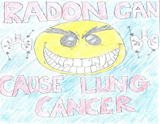 Radon can cause lung cancer