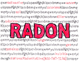 Radon radioactive cancer invisitble lungs